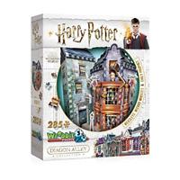 Wrebbit 3D 0511 Harry Potter Weasleys' Wizard Wheezes & Daily Prophet 3D Puzzle