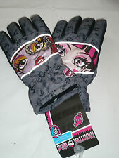 Gants de ski Monster High gris