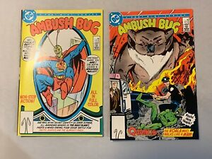 DC COMICS - AMBUSH BUG - ISSUES #1 & #2
