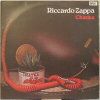 RICCARDO ZAPPA Chatka LP 1970s Italian Guitar Based Spacey Prog