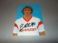 Dietmar Jakobs   HSV  signed signiert  Autogramm auf Autogrammkarte