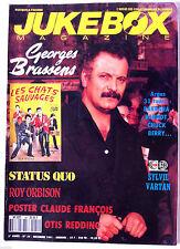 JUKEBOX n°54; Brassens/ Status Quo/ Otis Redding/ Roy Orbison/ Poster Claude Fra