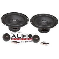 Audio System MX 165 Compo System 165 mm 2-Wege System Lautsprecher 1 Paar