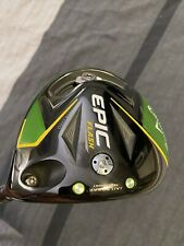 New listing Callaway Epic Flash Jail Break Driver New Never Used 9* Driver
