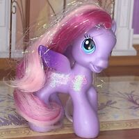 Retired 2009 MY LITTLE PONY G3.5 Lilac Purple GLITTER STARSONG Pegasus Figure