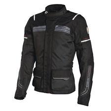 Richa Phantom Mens Motorcycle Motorbike Textile Jacket Black Small or 4XL