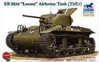 """Bronco 1/35 35162 US M22 """"Locust"""" Airborne Tank (T9E1)"""