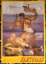FANTOMAS Filmplakat Jean Marais, Louis de Funès 1964