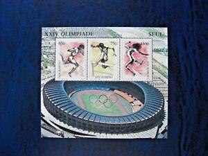 Rep. San Marino 1988 Olimpiade di Seul  foglietto MNH**