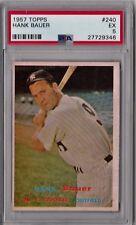 1957 Topps Hank Bauer #240 PSA 5 HS120