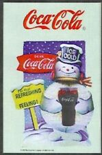 COCA COLA Snowman nostalgia barspiegel SPECCHIO MIRROR BAR 22 x 32 cm