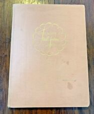 """Vintage 1943 """"Our Baby's First Seven Years� Record Book Unused Pink History"""
