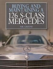 Mercedes-Benz W-126 (Buying Maintaining Specifications) Buch book S-Klasse-Class