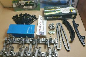 TIMING CHAIN Head GASKET KIT Bolts ROCKER ARM BRIDGE FORD TRANSIT MK7/8 2.2 TDCi