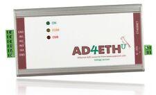 Analog Digital Converter Ethernet Measurement Module LAN Network IP Internet WEB