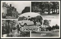 Hampshire. New Forest. Lyndhurst. 1958 Posted 5 Image Multiview R.Photo Postcard
