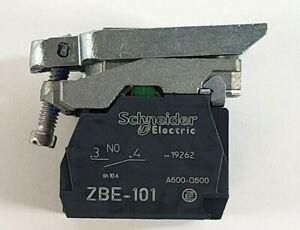 Schneider Electric ZB4BZ105 Switch Mounting Base,3 NO 4, A600-Q600, 22mm