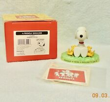 """New in Box-Hallmark Snoopy & Woodstock """"A Friendly Shoulder"""" Figurine-Numbered"""