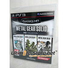 Jeu - Metal Gear Solid HD COLLECTION CLASSICS - MGS - Neuf Blister Officiel PS3