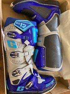 Gaerne Blue-Grey SG12 MX Boot - EU 43