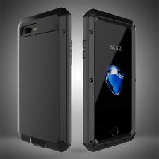 Shockproof Aluminum Heavy Duty Metal Case Cover for iPhone  X 4S 5S 6 7 8 Plus