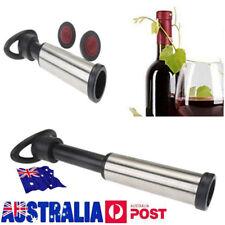 Bar Tool Wine Bottle Vacuum Saver Pump 2 Stopp Preserver Sealer Sealing Sealer M