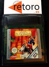 LA RUTA HACIA EL DORADO Gameboy GAME BOY COLOR PAL Español Funcionando Disney