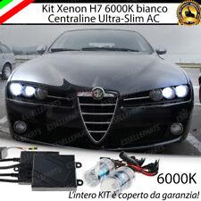 KIT XENON XENO H7 6000K 35W SPECIFICO ALFA 159 + LUCI DI POSIZIONE + LUCI TARGA