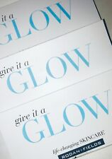 3 PACKAGES Rodan +and Fields GIVE IT A GLOW 3-Piece REDEFINE Mini Facial Travel
