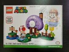 Lego 77907, Toad's Special Hideaway Super Mario Expansion, Limited Edition, NIB