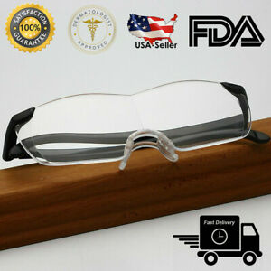 Big Vision Eye Glasses 1.6X Magnifying Eyewear Make Everything Bigger Clearer