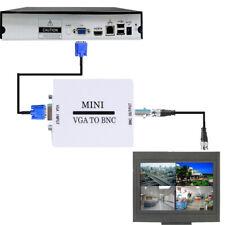 Cctv Bnc Mini Hd Vga A Vga Convertidor De Video De Bnc A Bnc compuesto Digital Monitor