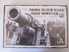 Takom 1/35 Skoda 30.5cm Siege Howitzer Model Kit - World War TWo