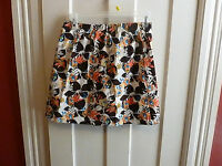 Barry&Boyle Womens Small Skirt Skort  Summer Floral Design New with Tags