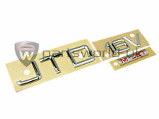 Alfa Romeo 147 Chrome Effect JTD 16v M-Jet Badge 60689831 Brand New Genuine