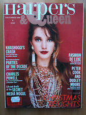 Harpers & Queen December 1989