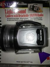 Sentry Light & Sound Lantern W/Detachable Am/Fm Radio Brand New!