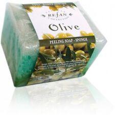 Refan Peeling Cosmetic Soap-sponge Olive 80gr
