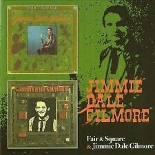 Jimmie Dale Gilmore Fair & Square/Self-Titled 2on1 CD NEW SEALED Country