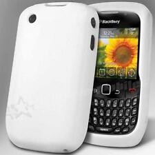 CUSTODIA COVER CASE SILICONE COLORE BIANCA BLACKBERRY CURVE 8520 8530 9300 9330