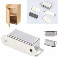 10 Packs Hardware Heavy Duty High Magnetic Cabinet Door Catch Latch Silver Hot