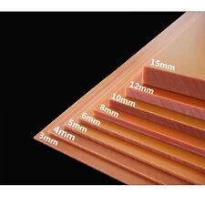 Rot Bakelit Phenolsäure Flachplatte Leiterplatte PCB Ausgewählte Größe