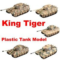 Easy Model German KingTiger Plastic Tank Model Tiger II All Of Easy Model