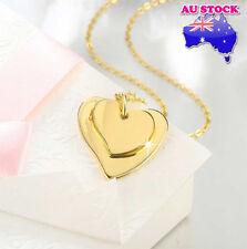 Classic Wholesale 18K Gold Filled Love Heart Pendant Necklace Pendant