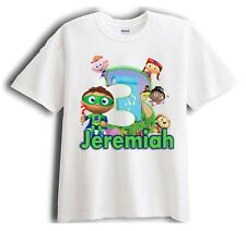 Super Why Personalized - Birthday T-Shirt Party Favor