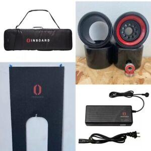 Inboard M1 Longboard Bundle Softcase Black Wheelset, Grip Tape, Battery Charger