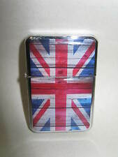 New Elgate Windproof Lighter Petrol Brittania Union Jack
