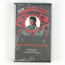 ELVIS PRESLEY Elvis' Christmas Album CASSETTE 1998 ROCK SEALED/UNPLAYED