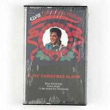 ELVIS PRESLEY Elvis' Christmas Album CASSETTE 1998 ROCK SEALED/UNPLAYED
