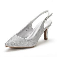 DREAM PAIRS Women's Lop Low Heel Slingback Pump Shoes